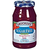 Smucker's Sugar Free Seedless Strawberry Jam, 12.75-Oz (Pack of 4) by Smucker's