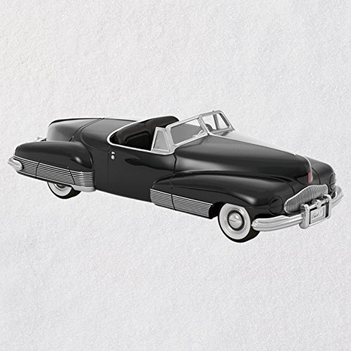 Hallmark Keepsake Christmas Ornament 2018 Year Dated, Legendary Concept Cars 1938 Buick Y-Job, Metal