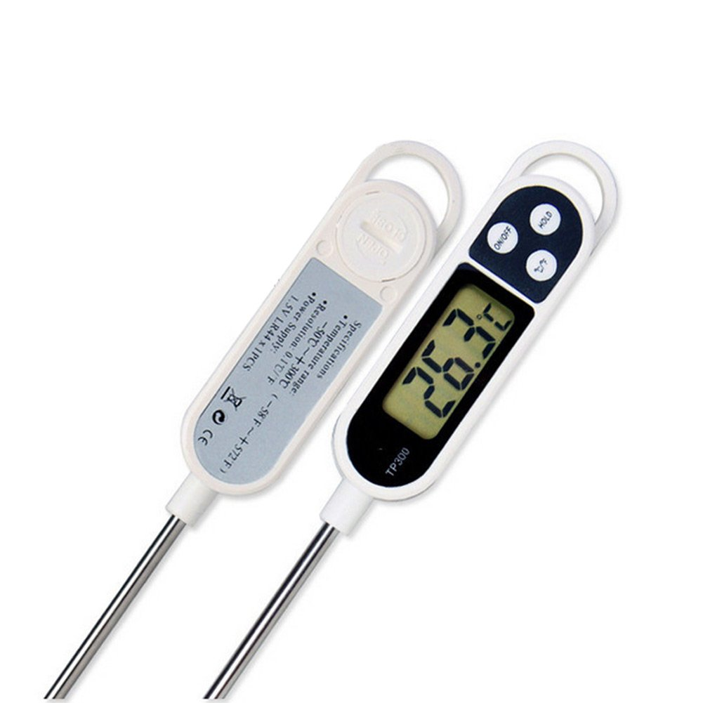 Hrph New Digital Food Thermometer BBQ Cooking Meat Hot Water Measure Probe Kitchen Tool 43049