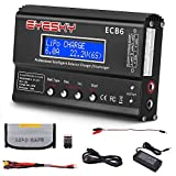 EYESKY LiPo Charger 1S-6S Digital Battery Balance Discharger 80W 6A for Li-ion Life