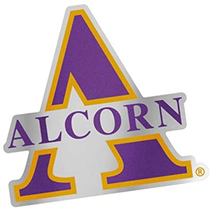 Amazon.com: Alcorn State University Braves Auto Badge Decal ...