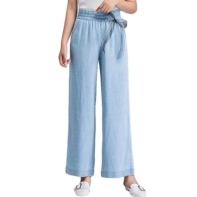 Pantalones De Mezclilla De Las Mujeres Baggy Pantalones ...