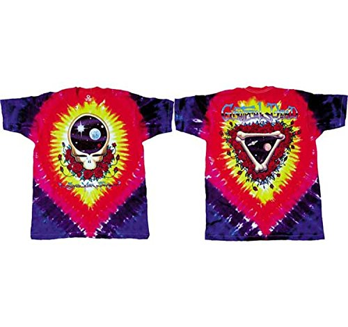 Grateful Dead Space Your Face Tie-Dye T-Shirt (Large)]()