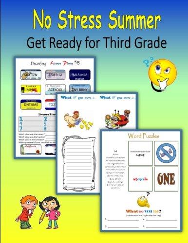 No Stress Summer:  Get Ready for Third Grade