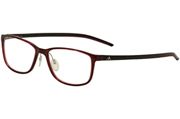 17908cba61 Image Unavailable. Image not available for. Color  Adidas Eyeglasses  Litefit A 693 10 6100 Berry Shiny Black ...
