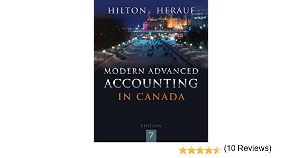 Modern advanced accounting in canada with connect access card modern advanced accounting in canada with connect access card murray w hilton darrell herauf 9781259066481 books amazon fandeluxe Gallery