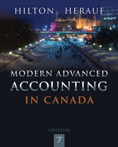 Modern advanced accounting in canada with connect access card modern advanced accounting in canada with connect access card murray w hilton darrell herauf 9781259066481 books amazon fandeluxe Image collections