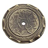 Amerock 1356AB Allison Value 2-1/2in(64mm) DIA Backplate - Antique Brass
