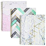 Mead Spiral Cute Notebooks,1-Subject, College Ruled, 100-Sheets, 3-Pack Deal
