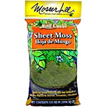Mosser Lee ML0460 Natural Green Sheet Moss, 325 sq. in.