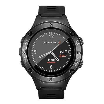 OOLIFENG 50M Impermeable Reloj Deportivo, Relojes Inteligentes De GPS con Altímetro, Barómetro, Brújula, Y Pulsómetro: Amazon.es: Deportes y aire libre