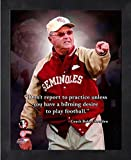 Bobby Bowden Florida State Seminoles ProQuotes Photo (Size: 9'' x 11'') Framed