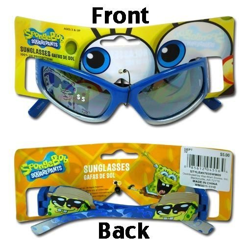 Sponge Bob Squarepants Childrens Sunglasses by Nickelodeon