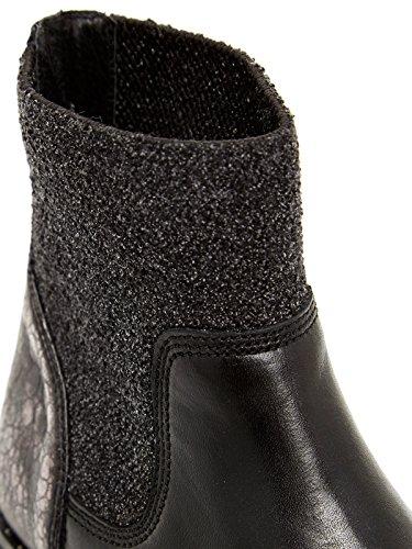 Bronx Vino, Zapatillas de Estar por Casa para Mujer, 36 EU Multicolor - Mehrfarbig (Black/Gunmetal 188)