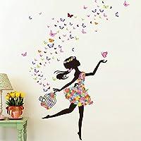 Alrens 51 x 68 Inch Butterfly DIY Wall Sticker Decor...