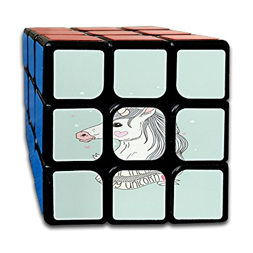 Unicorn Horse Non-toxic Durable Lightweight Turning Fun Toys Games Cube Magic Cube 3x3x3 For Men&women Kids