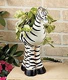 Safari Animal Planter - Zebra