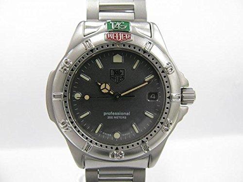 Reloj Tag Heuer Unisex 999.213 al cuarzo (pila), cuadrante de acero plateado, correa de acero: Amazon.es: Relojes