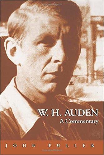 Image result for w h auden john fuller