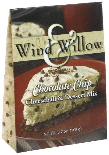 Wind & Willow Chocolate Chip Cheeseball, 3.7-Ounce Boxes (Pack of (Chocolate Chip Cheeseball)