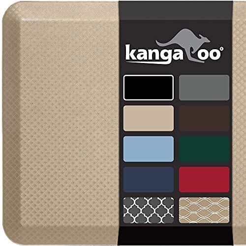 Kangaroo Anti Fatigue Cushioned Floor Mat, 3/4 Inch