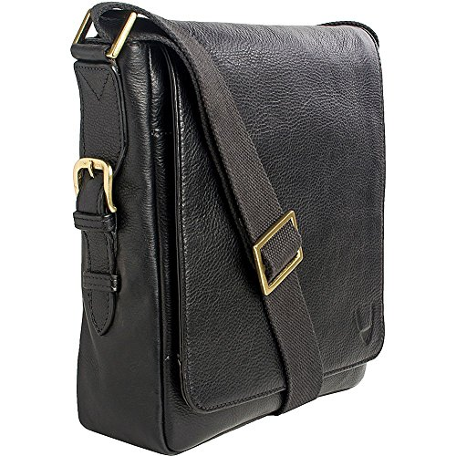 hidesign-william-vertical-leather-messenger-black