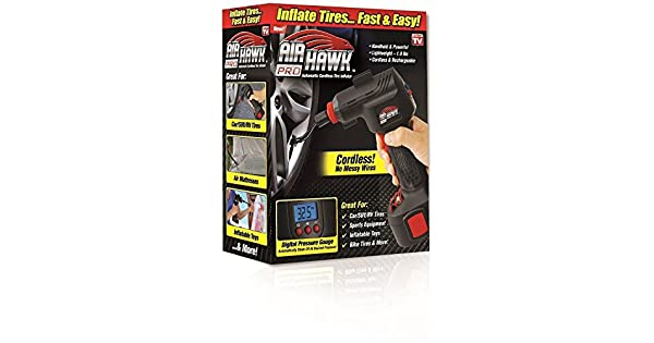 Amazon.com: Air Hawk Pro – Compresor de aire portátil ...