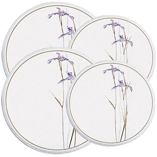 - Corelle Coordinates Shadow Iris Economy Burner Covers, Set of 4 Color: Shadow Iris, Model: 4-136-w, Hardware Store