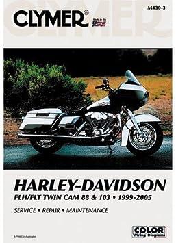 Harley-Davidson FLH Electra Glide CLYMER REPAIR MANUAL Fits