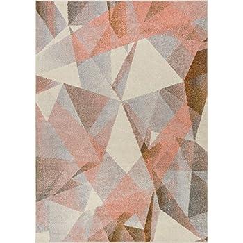 Amazon Com Well Woven Barra Blush Pink Multi Color Modern