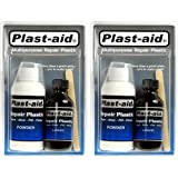 2-Pack Plast-Aid Acrylic, PVC, ABS, CPVC, Plastic
