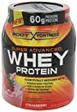 Body Fortress Super Advanced Whey Protein, Strawberry, 3.9 lb. (1770 g) from Body Fortress