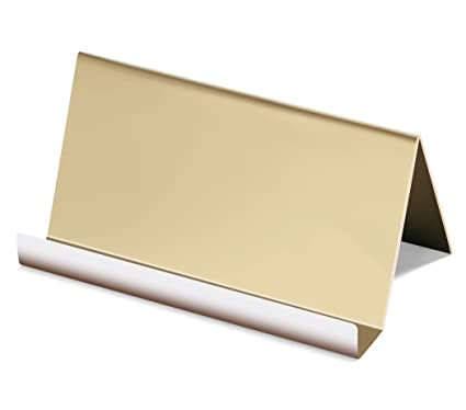 Amazon Nipole High End Business Card Holder Stainless Steel