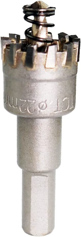Drill Bit Hole Saw Carbide Tip Core Multi-tooth For Metal Alloy Stainless Steel
