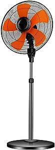 Pedestal Fan, Fan Height Adjustable | 6 Different Speed Levels | Swivel Function Oscillating | 50 cm Diameter |Standing Floor Fan