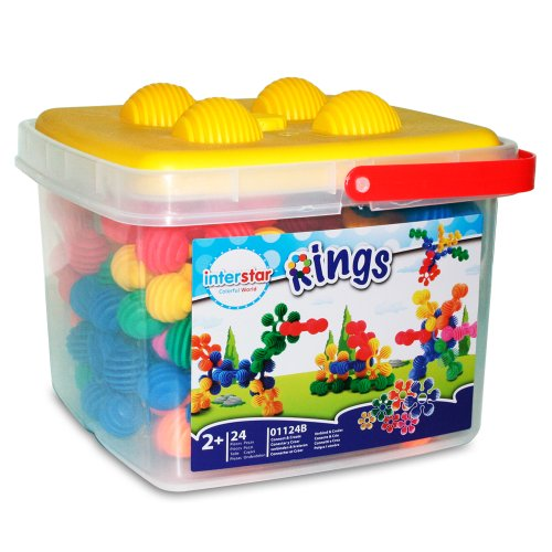 Interstar Rings Bucket Set, 24-Piece, Baby & Kids Zone