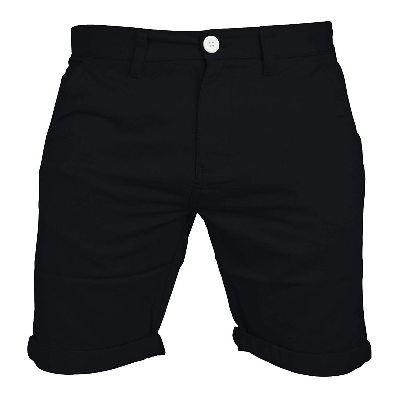 TALLA 38. Pantalones cortos Chino, cargo, informal, 100 % algodón, para el verano