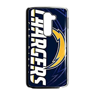San Diego Chargers Black Phone Case for LG G2