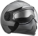 Studds Full Face Helmet Downtown (Gun Grey, L)