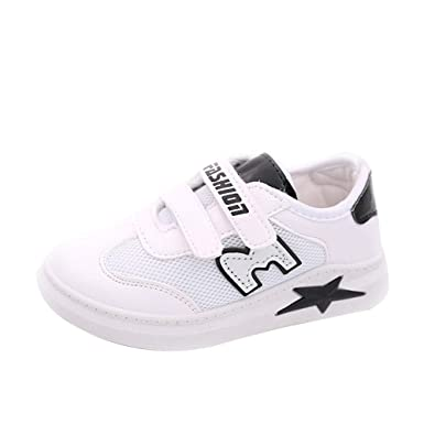 d5f814ee4d87 Chaussure, Basket Garçon WINJIN Fille Enfant Chaussure de Running Sneakers  Fashion Mode Simple Compétition Entraînement