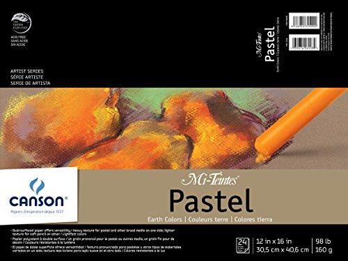 Mi-Teintes Pastel Pad, Earth Tones, 12