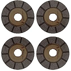 AT12312 Set of 4 Brake Discs For John Deere Tracto