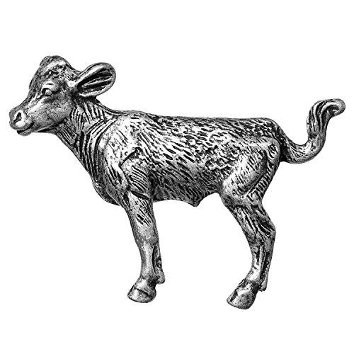 Big Sky Hardware Sierra Lifestyles Cow Knob, Pewter