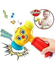 VATOS Baby Spielzeug Set Fernbedienung Spielzeug & Hammer Spielzeug für 6 Monate Baby