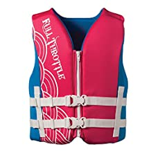 Full Throttle Rapid-Dry Youth Vest, Pink
