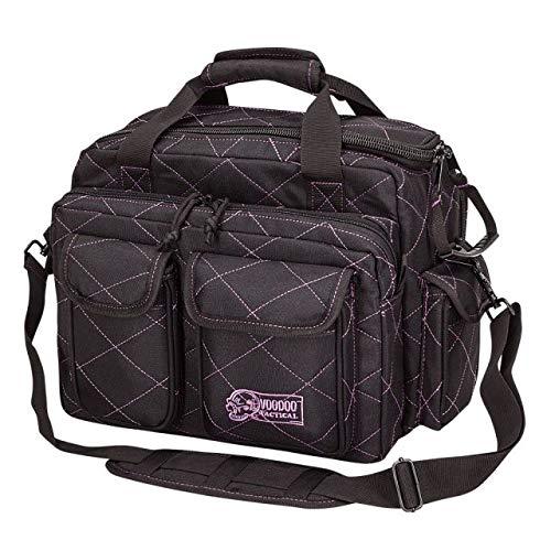 VooDoo Tactical 15-7621 Ladies Standard Scorpion Range Bag, Black/Purple