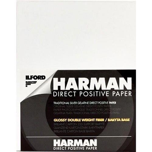 - Harman Direct Positive Paper FB Glossy 4 x 5 25 Sheets