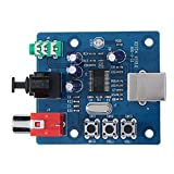 Beautyforall PCM2704 USB DAC USB To SPDIF Sound Card Analog Output Decoder Board