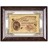 First Anniversary Cottage Garden Italian Inspired Music Box Plays Unchained Melody