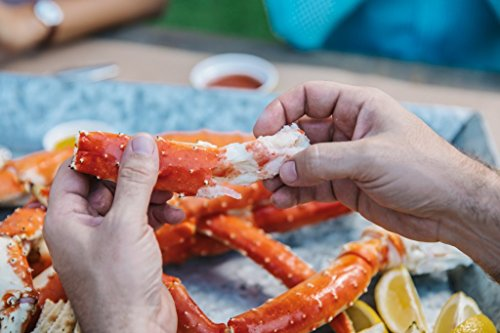 Alaskan King Crab: Giant Red King Crab Legs (3 LBS) - Overnight Shipping Monday-Thursday ()
